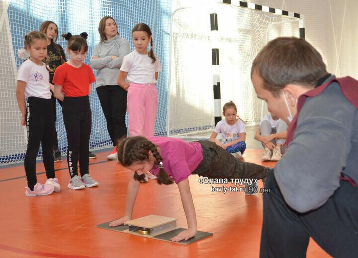 Бавлинские школьники рассказали о желании получить золотой значок ГТО