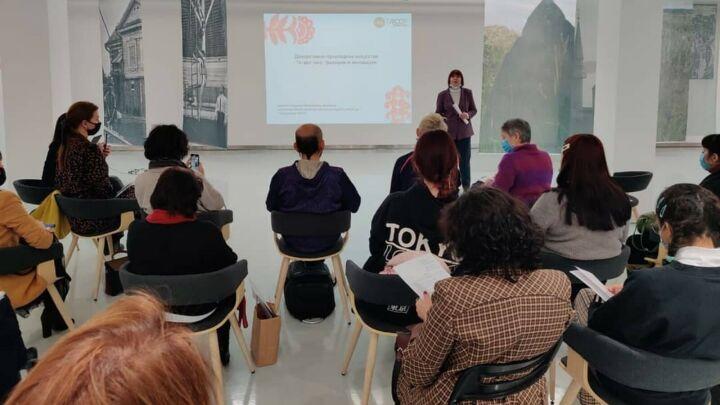 В Казани стартовал семинар о декоративно-прикладном искусстве Татарстана