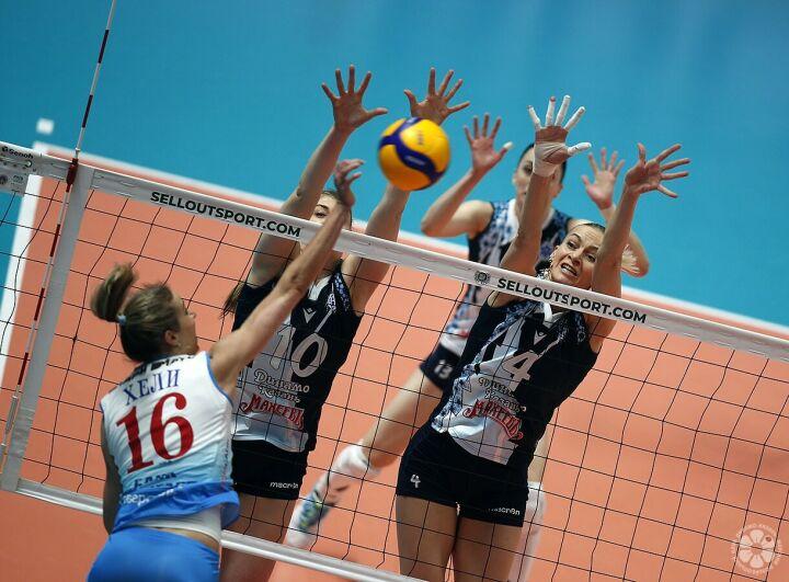 Волейболистки «Динамо-Ак Барса» второй год подряд стали обладателями Кубка России