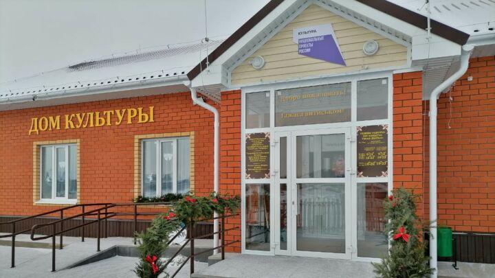 В Кукморском районе благодаря нацпроекту откроется Дом культуры