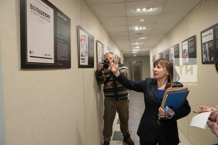 АО «Татмедиа» организовало выставку, посвященную 100-летию журнала «Татарстан»