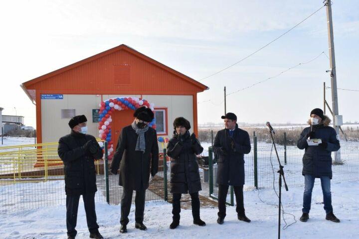 В Рыбно-Слободском районе открылся тринадцатый модульный ФАП