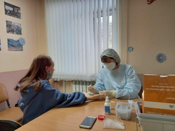 В Менделеевске на антитела к Covid-19 протестировали людей с инвалидностью