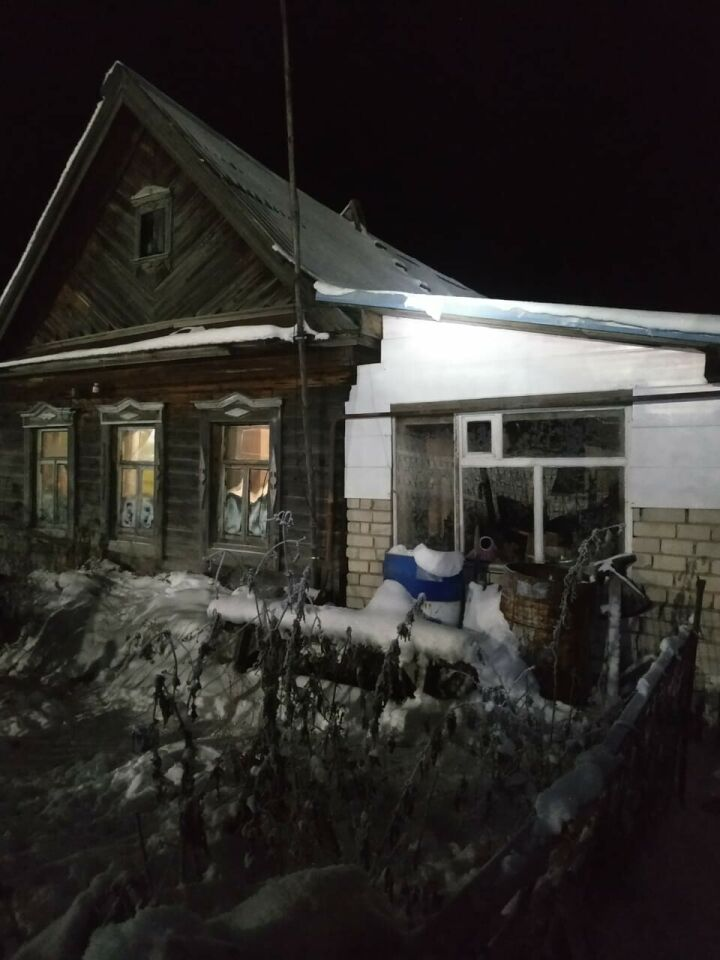 В Казани спасли мужчину, которого парализовало в погребе