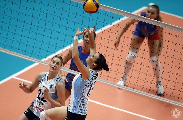 Волейболистки «Динамо-Ак Барса» одержали девятую победу подряд в Суперлиге