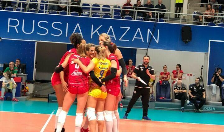 Почти три месяца побед: волейболистки «Динамо-Казани» выиграли в матче Кубка ЕКВ