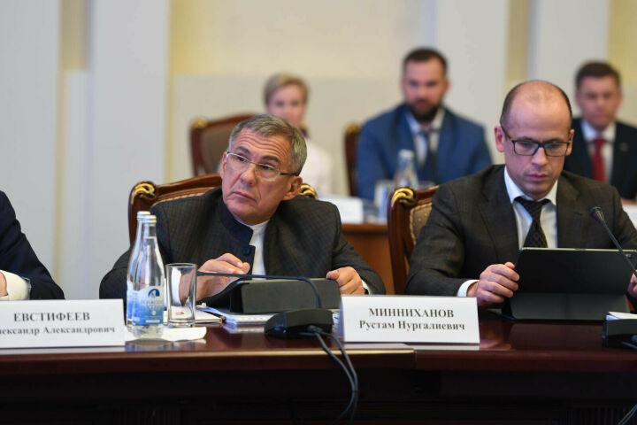 Минниханов: Татарстан готов делиться опытом по популяризации и развитию спорта