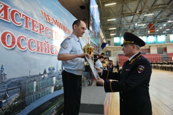 Полицейские Татарстана взяли «золото» в чемпионате МВД России по боксу