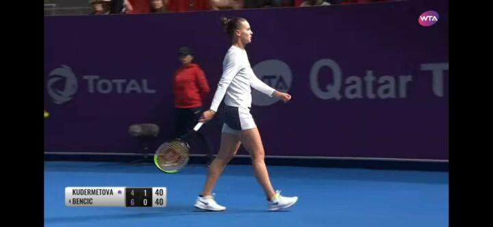 Вероника Кудерметова проиграла матч в парном разряде и выбыла из турнира в Катаре
