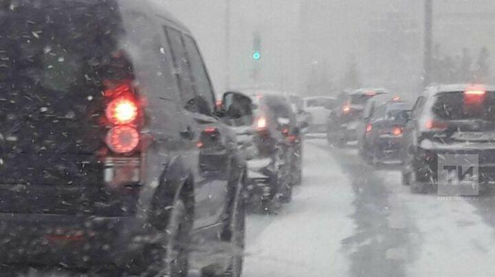 В Татарстане ожидаются снег, мокрый снег и дождь