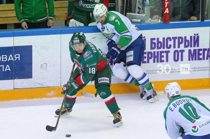 «Ак Барс» и  «Салават Юлаев» встретятся в плей-офф