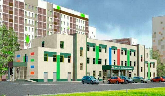 В 49-м микрорайоне Нижнекамска появится новая детская поликлиника № 3