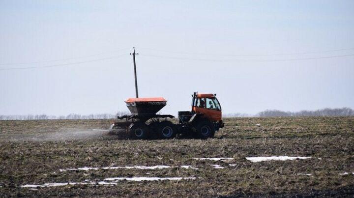 Земледельцы Актанышского района первыми в РТ приступили к весенне-полевым работам