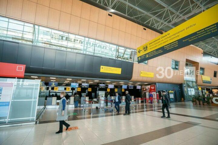 Казанский аэропорт планирует сохранить поток пассажиров без международных рейсов