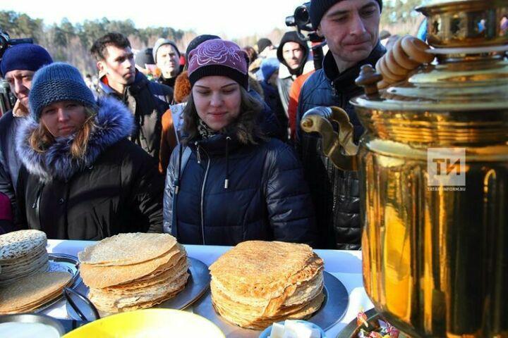 На Масленице в лесопарке Лебяжье побывали 25 тыс. человек