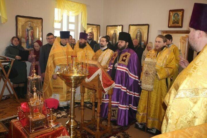 В поселке Ким Спасского района освятили храм