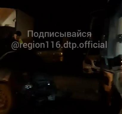 Водитель «Лады» погиб в лобовом столкновении с автобусом в Казани