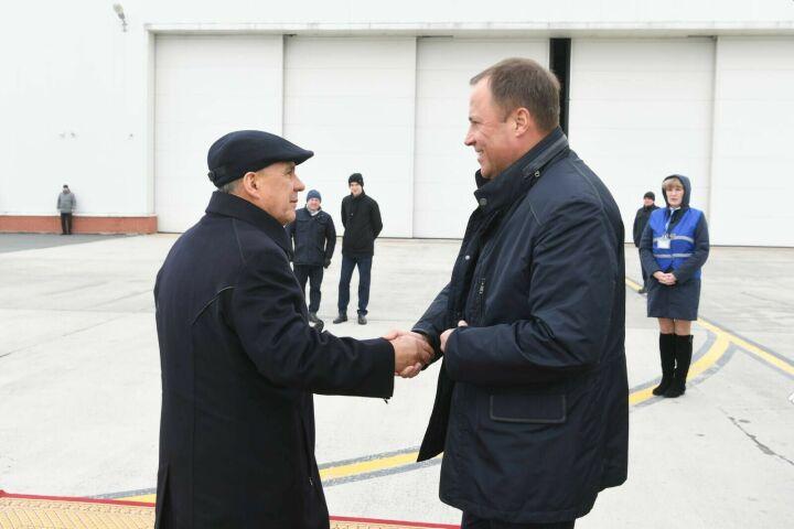 В Татарстан с рабочей поездкой прибыл Игорь Комаров