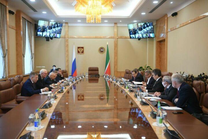 Минниханову доложили о программах «Татнефти» по повышению экологичности нефтедобычи
