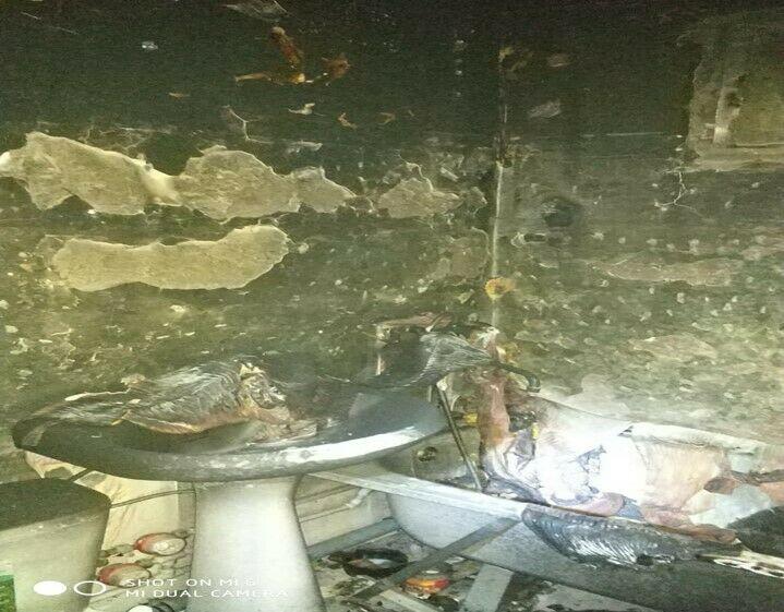 Пожарные спасли мужчину с балкона загоревшейся в Азнакаево квартиры