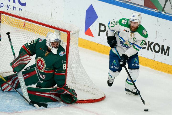 «Ак Барс» проиграл «Салавату Юлаеву» в первом матче виртуального плей-офф