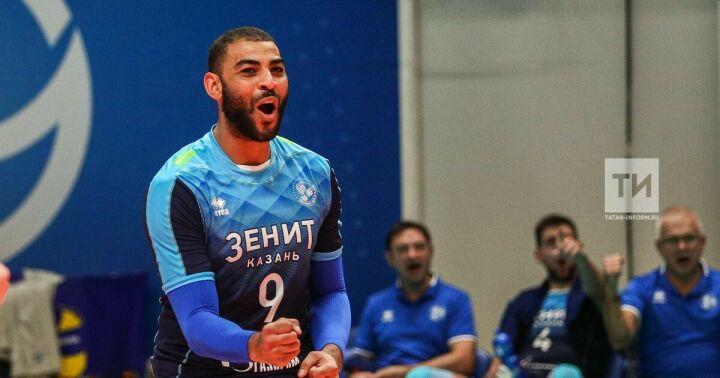 Эрвин Нгапет на год продлил контракт с волейбольным клубом «Зенит-Казань»