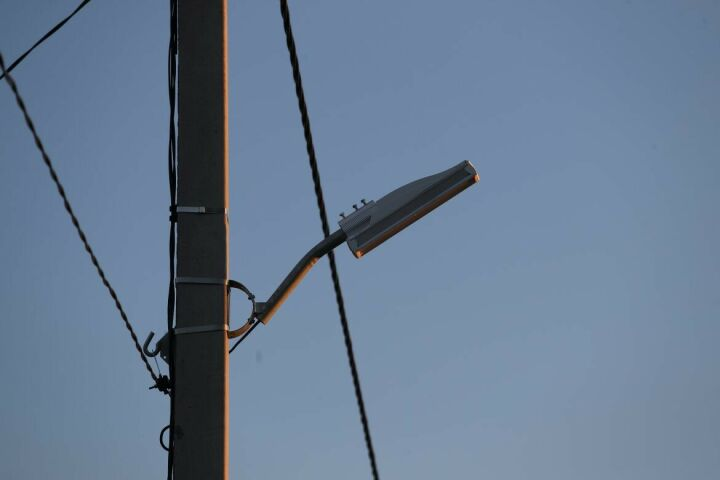 В Елабуге на проспекте Нефтяников заменят 165 фонарей