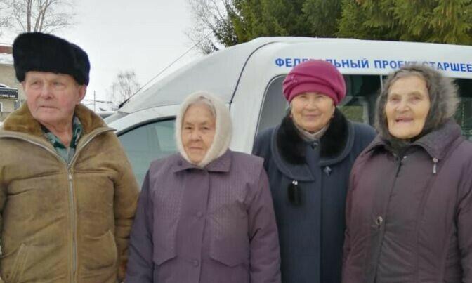 В ЦРБ Менделеевска в марте доставят 213 пожилых сельчан по нацпроекту «Демография»