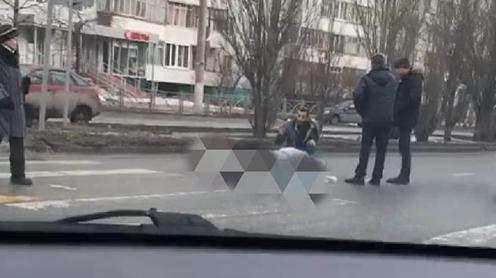 Иномарка сбила пожилого мужчину на пешеходном переходе в Казани