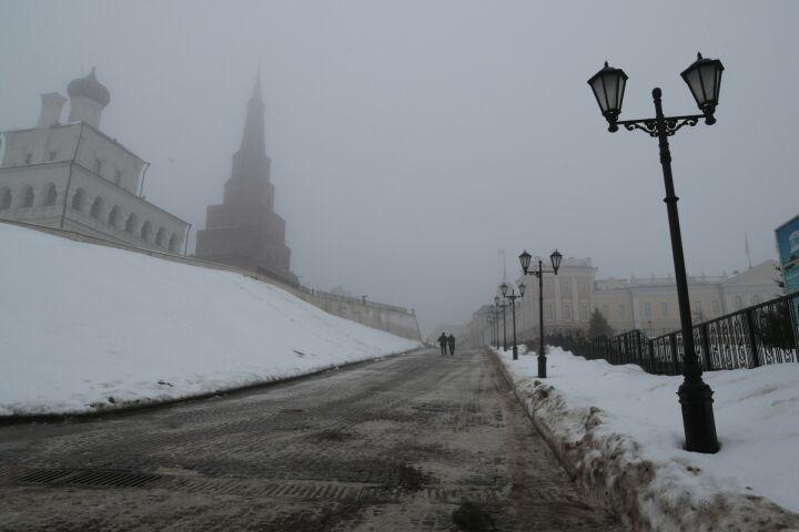 Вечером на Татарстан опустится туман