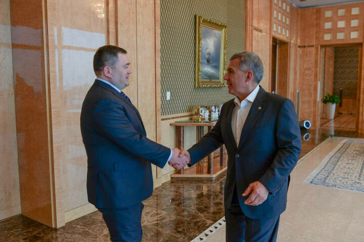 «Татарстан – наш ключевой партнер»: глава ПСБ в Казани встретился с Президентом РТ