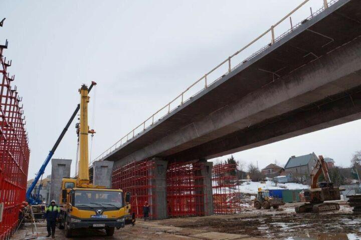 Завершена поставка всех блоков для пешеходного перехода Большого Казанского кольца