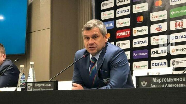 Дмитрий Квартальнов: Все четыре матча серии против «Нефтехимика» – на загляденье