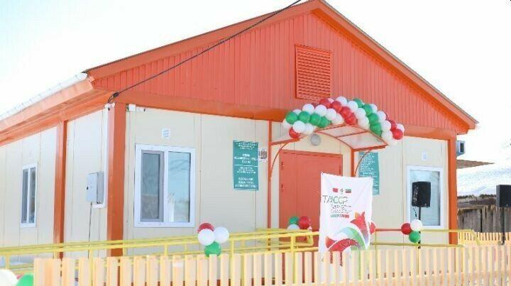 В Бугульминском районе открыли ФАП благодаря нацпроекту «Здравоохранение»