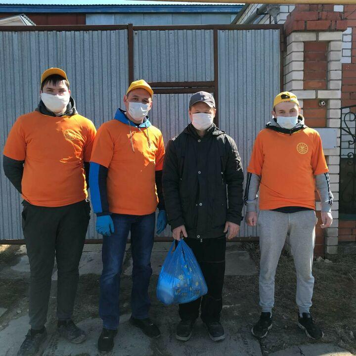 Высокогорские волонтеры продолжат оказывать помощь людям и после окончания пандемии