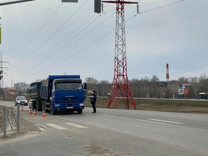 В нескольких селах Менделеевского района вводятся ограничения движения транспорта
