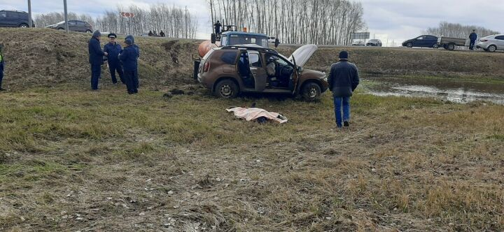 Водитель внедорожника погиб в ДТП с бензовозом на трассе в РТ
