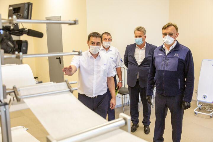 КАМАЗ запускает линию по производству масок повышенной защищенности