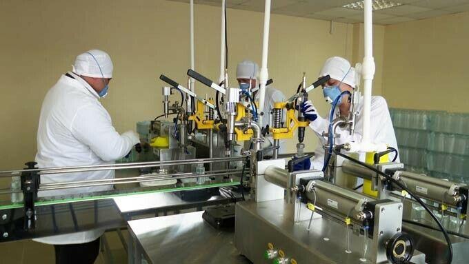 Власти Нижнекамска проверили, как работает производство по выпуску антисептиков