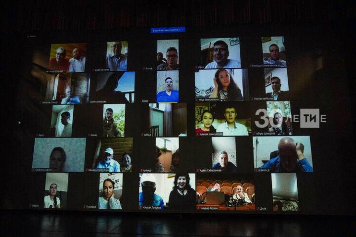 Театр Камала впервые собрал труппу в онлайн-формате