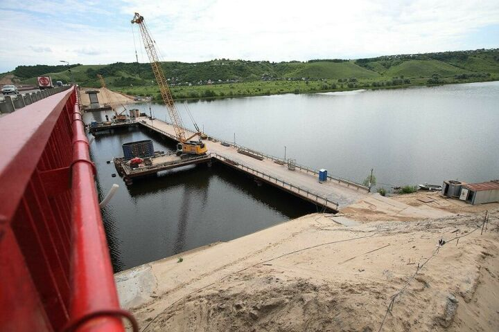 Мостовой переход через Свиягу в Татарстане построят по технологии Крымского моста