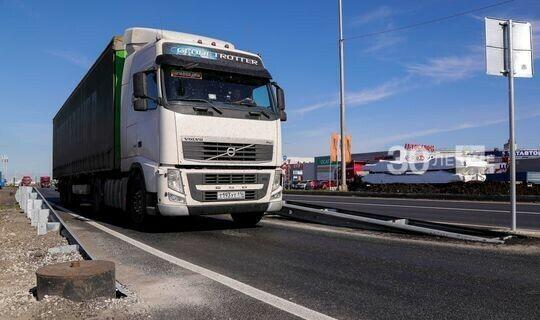 В Татарстане ограничили движение большегрузов по трассам М7 и Р239