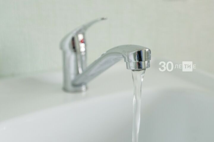 В Советском районе Казани почти на сутки отключат воду