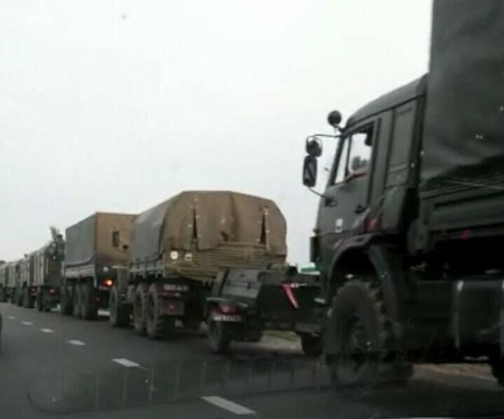 Военная техника и военнослужащие переполошили жителей Бугульмы
