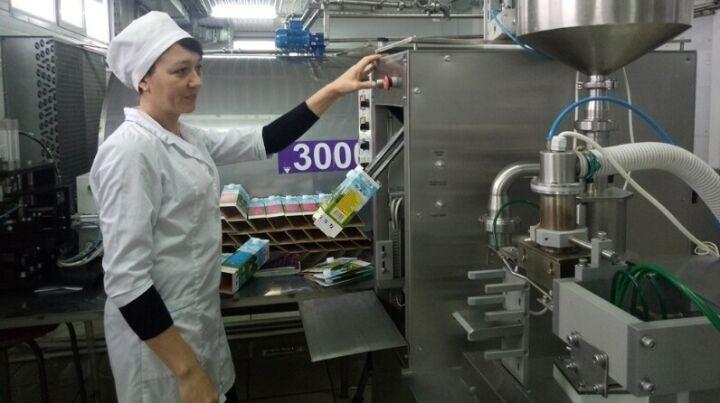 Молочный завод в Сабинском районе перерабатывает 4 тонны продукции в сутки