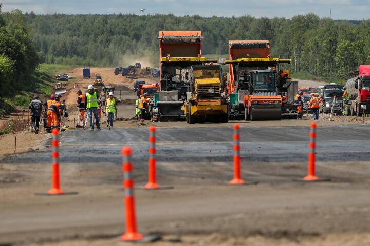 На строительство дороги М-12 Москва — Казань потратят более 500 млрд рублей
