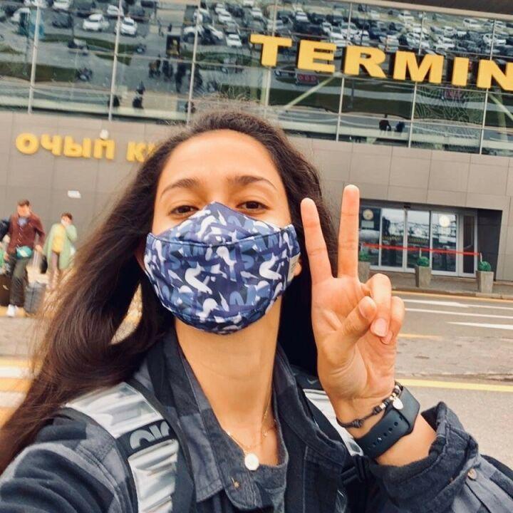 Мексиканская волейболистка «Динамо-Ак Барса» прибыла в Казань