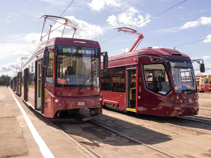 На маршруты № 5 и 5а в Казани выйдут новые трамваи