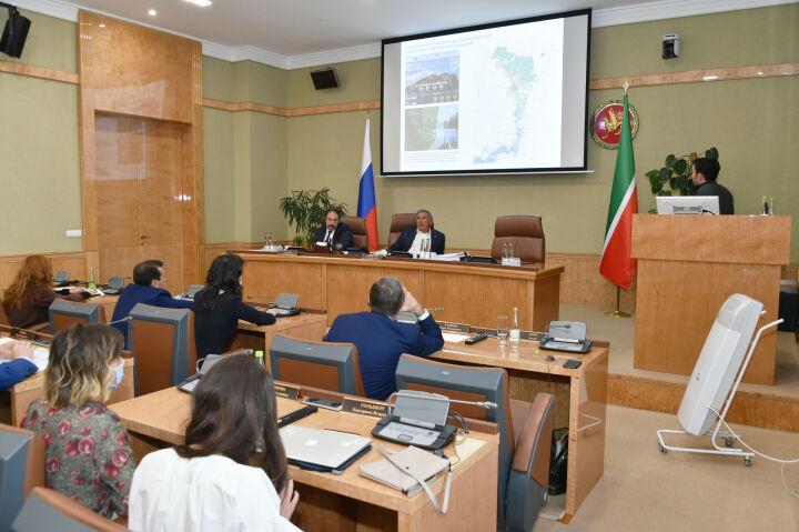 Минниханову презентовали стратегию развития набережной Казанки