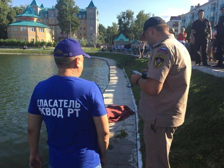 Тело утонувшего подростка подняли со дна озера в Зеленодольске